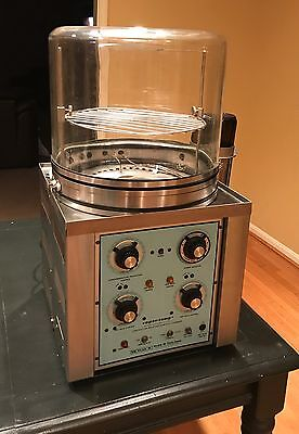 Blue M VP-100AT-1 Controlled Relative Humidity Chamber, Pyrex Bell Jar