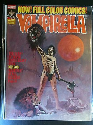 Vampirella Magazine #25 June 1973 VF Warren Horror