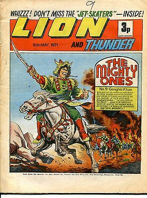 1971 Lion and Thunder comic