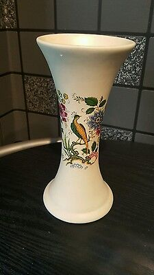 Purbeck Ceramics of Swanage  peacock Decorative Vase