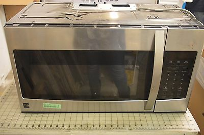 """Kenmore 80323 30"""" Stainless Over-the-Range Microwave Oven 1.6 cu ft. KJ1"""