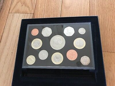 2007 United Kingdom 12 Coins Proof Set Royal Mint