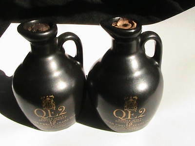 Rare Scotch 50 Year Old Beinn Bhuidhe In Queen Elizabeth Ocean Liner Sealed Jugs