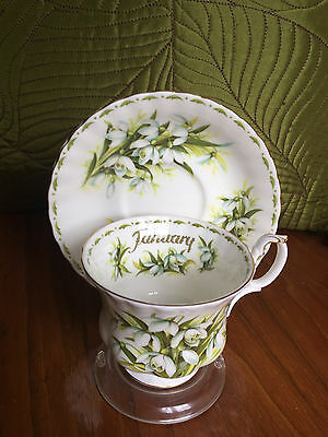 Beautiful Tea Cup And Saucer-Vintage- Royal Albert bone china, England