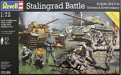 Revell 1:72 Kit Diorama Battaglia Di Stalingrado Stalingrad Battle  Art 03189