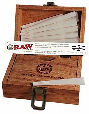 RAW Organic 1 1/4 Pure Hemp Pre-Rolled Cones With Filter (75 Pack + Special RAW