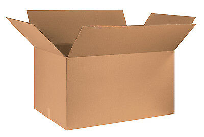"Box Partners Corrugated Boxes 36"" x 24"" x 20"" Kraft 5/Bundle 362420"
