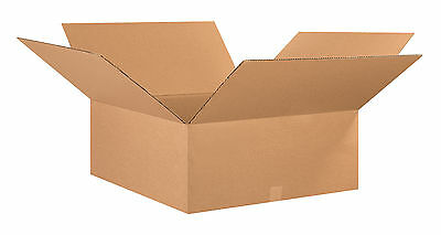 "Box Partners Corrugated Boxes 26"" x 26"" x 10"" Kraft 10/Bundle 262610"