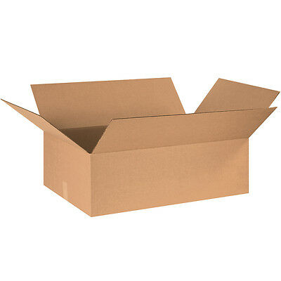 "Box Partners Corrugated Boxes 30"" x 20"" x 10"" Kraft 15/Bundle 302010"
