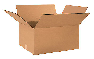 "Box Partners Double Wall Boxes 24"" x 20"" x 12"" Kraft 10/Bundle HD242012DW"