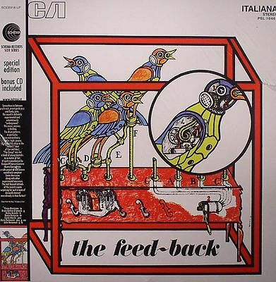 GROUP, The - The Feed Back (remastered) - Vinyl (LP + CD)