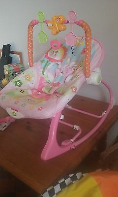 fisher price baby rocker/vibrating chair