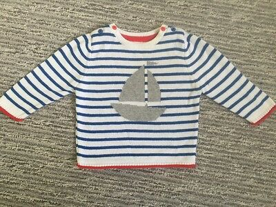 Next Baby Boy Knitted Jumper Up To 3 Months