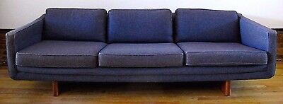 MID CENTURY ADRIAN PEARSALL STYLE 7 1/2 FT SOFA by ARMSTRONG modern