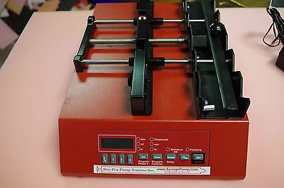 New Era Pump Systems Programmable Syringe Pump NE-1600 - 2, 4 or 6-position
