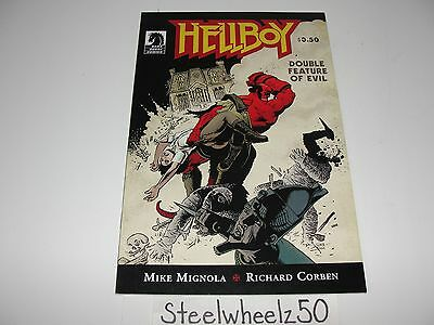 Hellboy Double Feature Of Evil #1 Comic Dark Horse 2010 Mike Mignola Corben 0A