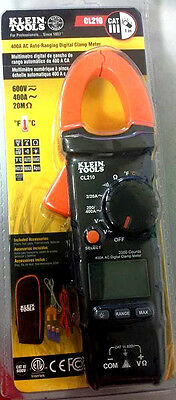 Klein Tools CL210 400A AC Auto - Ranging Digital Clamp Meter