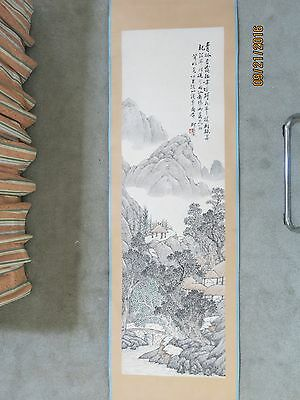Chinese Vintage Scroll