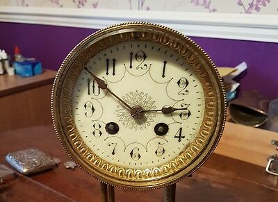 antique french clock movement mappin and webb.