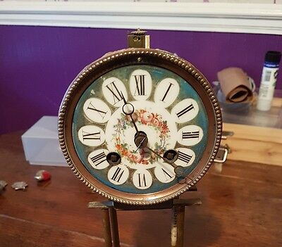 antique french clock movement japy freres