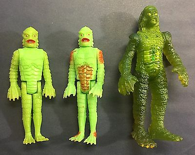 Vintage Remco Glow Monsters Creature from the Black Lagoon Burger King Lot
