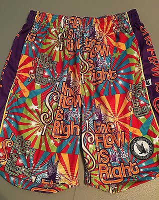 NWT Flow Is Right Society Girls Boys Kids Youth Soccer Shorts Small 8 Athletic