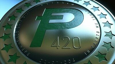 Potcoin cryptocurrency  100 potcoin for $42.00