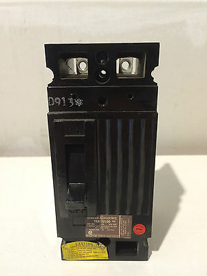 New GE TEB122100 250V 100A 2 Pole Circuit Breaker