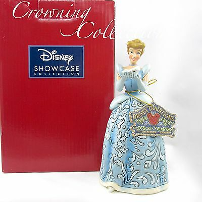 Jim Shore Cinderella Dreaming for a Prince Disney Traditions Princess & Slipper