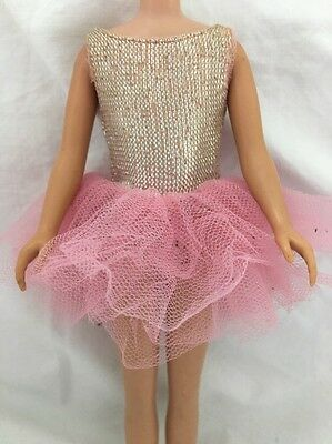 Vintage SKIPPER Doll Tagged Pink Ballet Outfit Dance Tutu