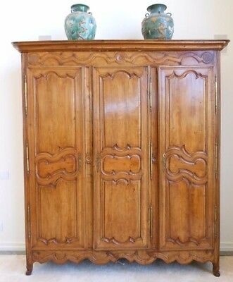 Monumental French Regency 1860 Armoire Appraised At $28,500