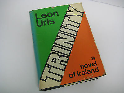 Vtg BOOK 1976 BCE TRINITY by Leon Uris A NOVEL OF IRELAND