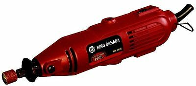 King Canada Tools 8353N 135 Piece Variable Speed Rotary Tool Kit sand grind NEW