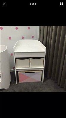Leander change Table - White - Excellent Condition, Hardly Used