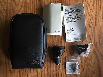 Welch Allyn 20000A 3.5V Fiberoptic Otoscope With Throat Illuminator