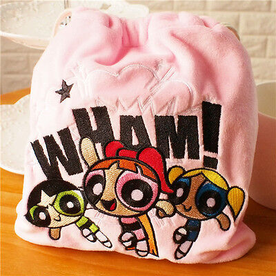 The Powerpuff Girls Doll The 1999 Cartoon Network Drawstring Bag 18x20cm