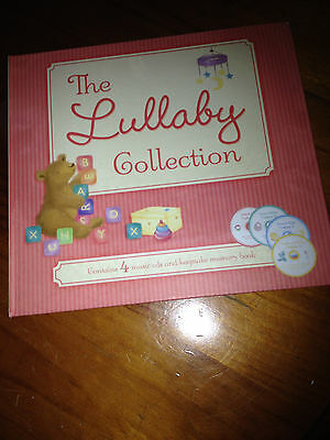 Like New-The Lullaby Collection-4 Cds-Keepsake Memory Book