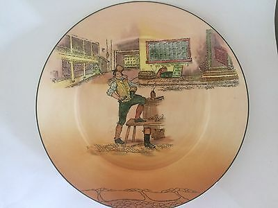 Royal Doulton Dickens Ware Sam Weller Plate D.6327 England Approx 10.5 inches