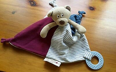 Mamas and Papas The Buttons Teddy Comforter, Blankie