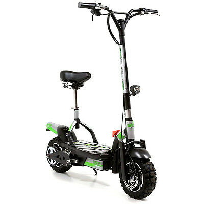 Uber Scoot Cruzz 36 Volt 1000W Electric Scooter Powerboard C858 Knobbly Tyre