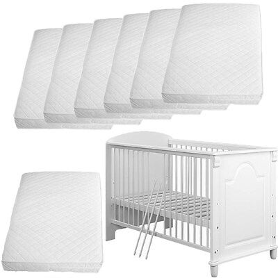 Cot Foam Mattresses ✔Quilted ✔Breathable ✔Water Resistant ✔Travel Cots For Kids