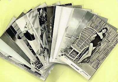 Greetings Cards -  Glamour/Film Stars 1950s Postcard Size Cards issued in the UK