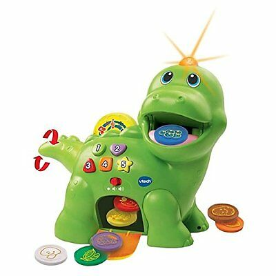 VTech Baby Feed Me Dino Toy - Green