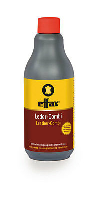 Effax LEATHER COMBI Non Greasy Cleaner Tack Saddle Care 500ml