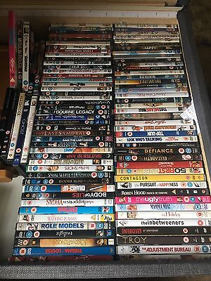Job Lot of 100+ mixed DVDs Bundle -Classics  🎥 Ideal For Car Boot Sale/Collect!