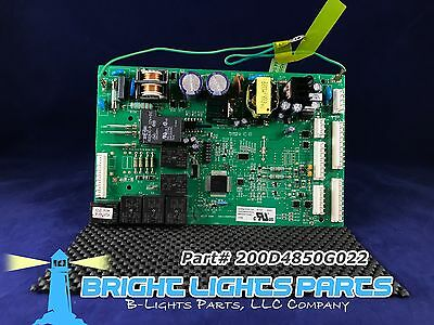 GE Main Control Board FOR GE REFRIGERATOR 200D4850G022 / WR55X10942 Green