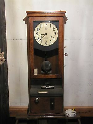 1934 International Time Recording Co. Time Clock