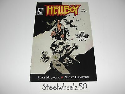 Hellboy Sleeping And The Dead #2 Comic Dark Horse 2011 Mike Mignola Hampton RARE