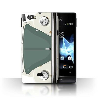 Case/Cover Sony Xperia Miro/ST23I / Retro Beetle / Rusty Banger