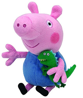 George Peppa Pig Beanie Baby Stuffed Plush Toy Kids Soft Toddler Teddy Toys New